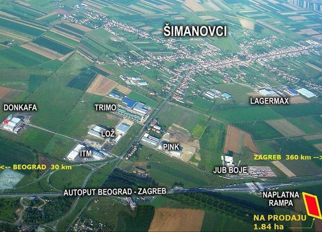 Land Plot 40000sqm For Sale Simanovci Listing 7848604 Srbija Nekretnine