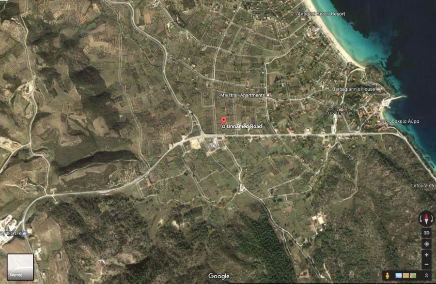 Sale Parcel 1600 m Ormos Panagias Sithonia 5425855