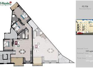 apartment for sale Sannat, 118 ㎡, bedrooms: 3, new development