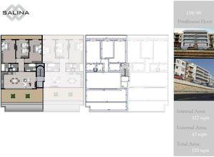 apartment for sale Naxxar Salina, 112 ㎡, bedrooms: 3