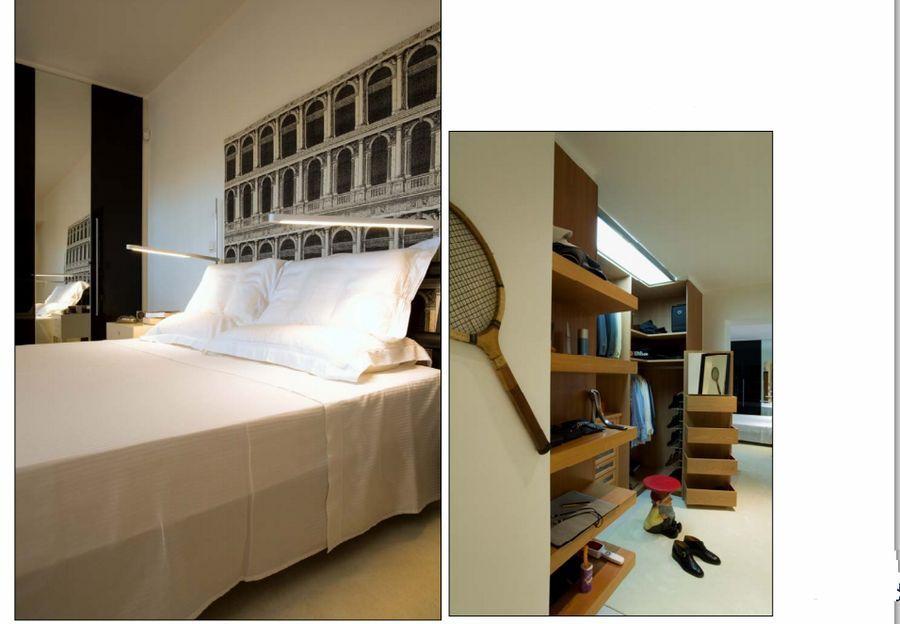 υπνοδωμάτιο και walk-in closet