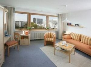 Studio/Γκαρσονιέρα για ενοικίαση Αμβούργο 26 τ.μ. 10ος Όροφος 1 Υπνοδωμάτιο 2η φωτογραφία